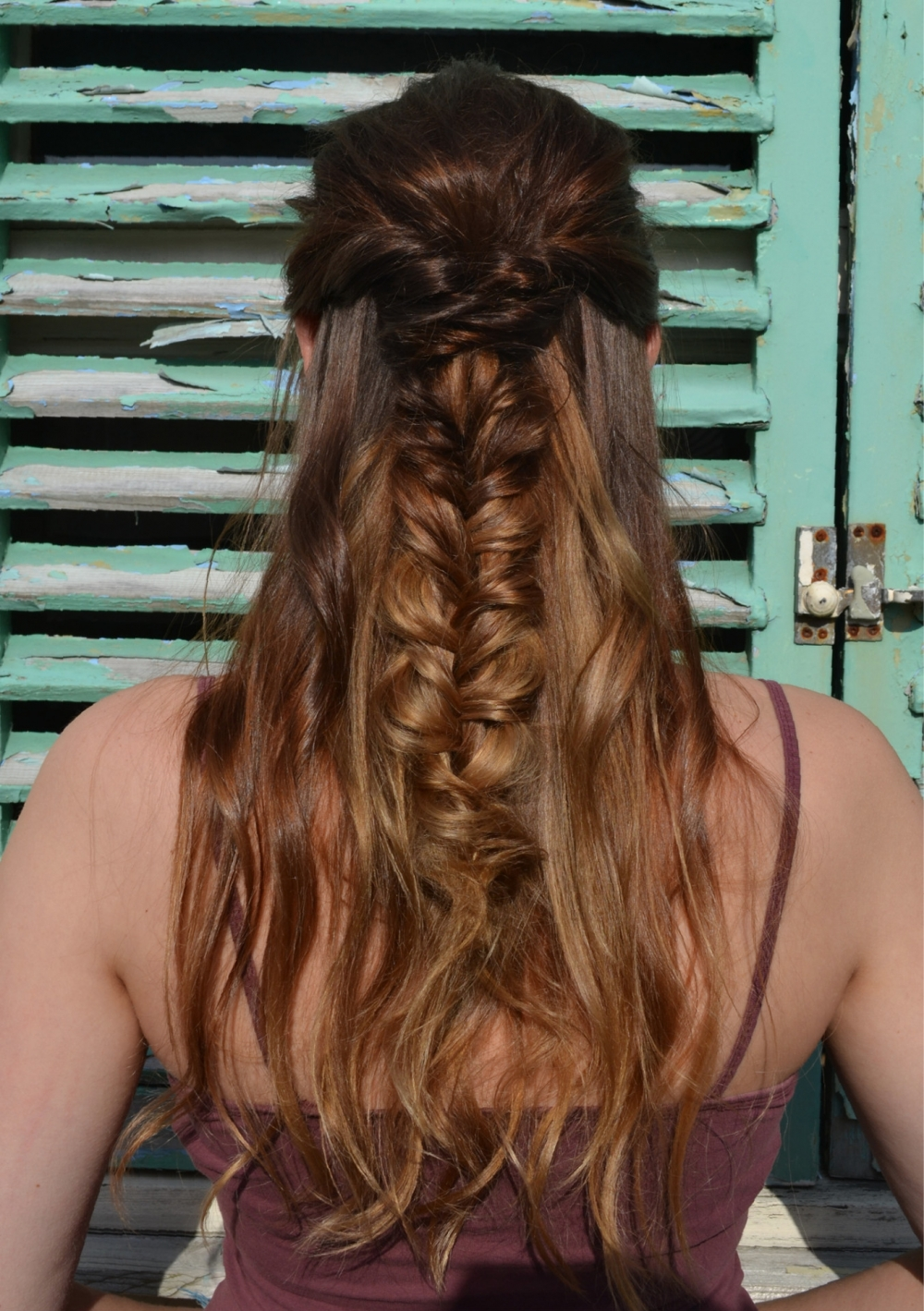 Loose Fishtail Plait