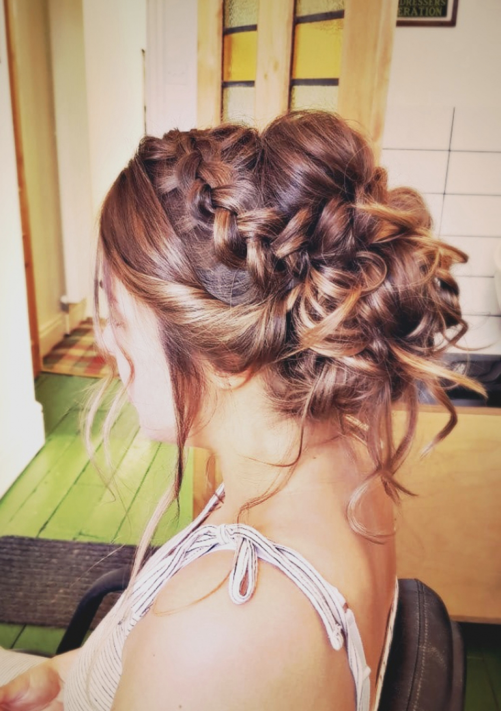 Trial – Loose Braided Updo